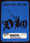 Ronnie James Dio / Dio - Nov 15, 1985 at The Summit