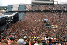 Texas World Music Festival (Texas Jam) - Dallas - Aug 24, 1985 at The Cotton Bowl - Dallas, Texas