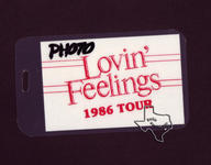 Lovin' Feelings Concert - Sep 27, 1986 at The Summit
