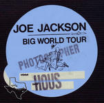 Joe Jackson - Jul 6, 1986 at Astroworld / Southern Star
