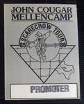 John Cougar / Mellencamp - Feb 19, 1986 at The Summit