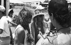 Bon Jovi / Jon Bon Jovi - Jul 4, 1986 at Austin, Texas