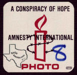 Amnesty International Conspiracy of Hope Concert (U2, Sting, Peter Gabriel, Bryan Adams, Lou Reed, Joan Baez) - Jun 6, 1986 at Denver, Colorado