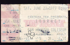 Journey - Jun 23, 1979 at Sam Houston Coliseum