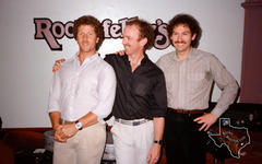 Chris Hillman, Bernie Leadon & Al Perkins - Jan 12, 1984 at Rockefellers