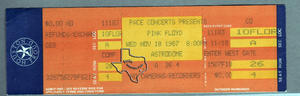 Pink Floyd - Nov 18, 1987 at Houston Astrodome