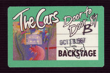 The Cars - Oct 18, 1987 at The Summit