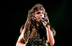 Alice Cooper - Dec 5, 1987 at Sam Houston Coliseum