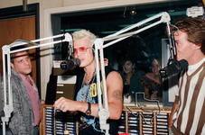 Billy Idol - Jul 16, 1987 at KKBQ