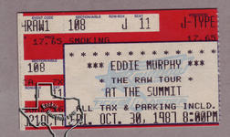 Eddie Murphy - Oct 30, 1987 at The Summit