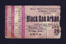 Black Oak Arkansas - Apr 26, 1974 at Hofheinz Pavilion