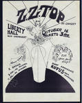 ZZ Top - Oct 14, 1971 at Liberty Hall
