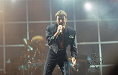 George Michael - Oct 14, 1988 at Texas Stadium, Dallas, Texas