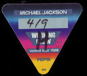 Michael Jackson (also see Jacksons) - Apr 9, 1988 at The Summit