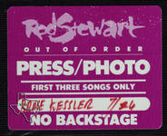 Rod Stewart (also see Faces) - Jul 24, 1988 at Austin Special Events Center (Frank Erwin Center) Austin, Texas