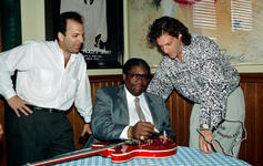 BB King - Apr 1990 at Hard Rock - Houston