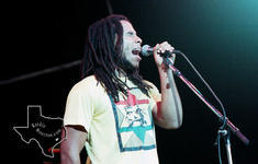 Ziggy Marley - Aug 4, 1990 at The Woodlands Pavilion