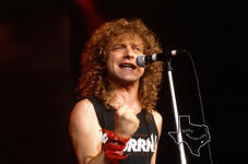 Lou Gramm - Jul 13, 1990 at The Woodlands Pavilion