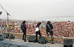 Kiss - Mar 11, 1990 at Galveston beach