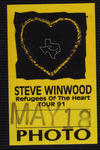 Steve Winwood - May 18, 1991 at The Woodlands Pavilion