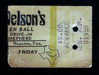 Willie Nelson - Oct 31, 1975 at Shepherd Drive-In
