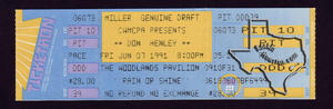 Don Henley - Jun 7, 1991 at The Woodlands Pavilion