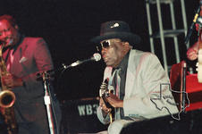 John Lee Hooker - May 2, 1992 at Sam Houston Park, Houston, Texas
