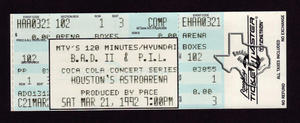 Live - Mar 21, 1992 at Astro Arena
