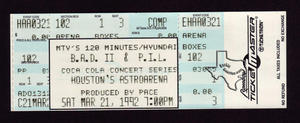 Public Image Limited (PIL) - Mar 21, 1992 at Astro Arena