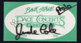 Jude Cole - Feb 7, 1993 at Tower Theater