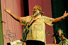 BB King Blues Fest with Koko Taylor, Lonnie Brooks, Junior Wells, Buddy Guy, Eric Johnson, & Gregg Allman - Aug 28, 1993 at The Woodlands Pavilion