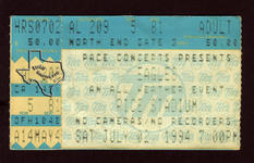 Eagles - Jul 2, 1994 at Rice Stadium