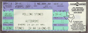 The Rolling Stones - Jan 14, 1995 at Mexico City, Mexico