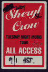 Sheryl Crow - Aug 31, 1995 at The Woodlands Pavilion