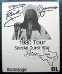 Rick James - Feb 24, 1980 at Sam Houston Coliseum