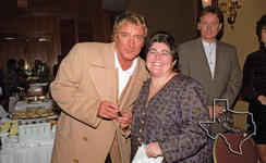 Rod Stewart (also see Faces) - Dec 3, 1996 at Houston, Texas