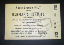 Herman's Hermits - Jul 17, 1966 at Sam Houston Coliseum