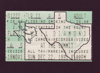 Neil Diamond - Dec 22, 1991 at The Summit