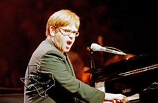 Elton John - Jan 30, 1998 at The Compaq Center, Houston, Texas