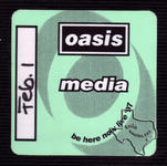 Oasis - Feb 1, 1998 at Aerial Theater