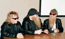 ZZ Top - Jan 17, 1998 at Museum of the Gulf Coast, Port Arthur, Texas