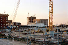 Toyota Center Construction - 1998 at Houston, Texas