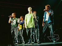 NSYNC - Apr 7, 1999 at The Compaq Center, Houston, Texas