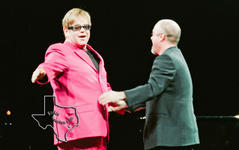 Billy Joel and Elton John - Feb 24, 2003 at The Compaq Center, Houston, Texas