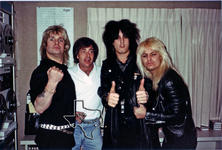 Motley Crue - Feb 17, 1984 at KKBQ