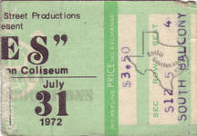 J. Geils Band - Jul 31, 1972 at Sam Houston Coliseum