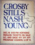 Crosby Stills and Nash (& Young), CSN&Y, CSN, Crosby / Nash - Dec 18, 1969 at Hofheinz Pavilion