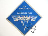 Van Halen - Apr 15, 1978 at Houston Music Hall