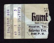 Humble Pie - Mar 31, 1973 at Sam Houston Coliseum