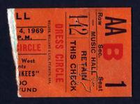 Monkees - May 4, 1969 at Houston Music Hall
